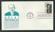 # 1275 ADLAI STEVENSON, GOVERNOR & AMBASSADOR 1965 Anderson First Day Cover