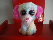 Ty Beanie Boo LOVESY the DOG 6 inch NWMT. Justice Exclusive.IN STOCK NOW.