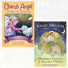 Doreen Virtue Cherub Angel Cards for Children,Angel Dreams 2 Oracle Cards New