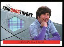 The Big Bang Theory Season 3 & 4 Howard's Blue Shirt Wardrobe M05