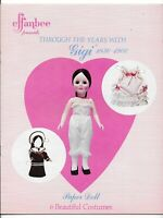 1979 Hobby House Press Effanbee Through The Years With Gigi Paperdoll Book