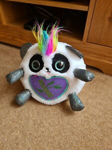 "Zuru Rainbocorn Pandacorn S2 Green Sparkle Heart 11"" Plush Teddy collectable Toy"