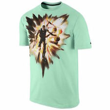 NIKE KD Speed T-Shirt sz L Large Arctic Green Kevin Durant Explosion Warriors
