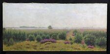 Adolphe POTTER (1835-1911) Paysage 48x103 cm Suisse Genève Th.Rousseau Daubigny