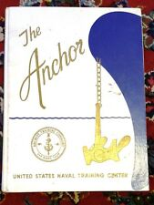 "Vtg 1970s Navy Recruit Training Cruise Book ""The Anchor"" NTC San Diego Boot Camp"
