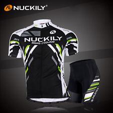 Men Cycling Bike Short Sleeve Clothing Set Bicycle Wear Suit Jersey Shorts M-XXL