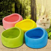 Cute Hamster Feeding Bowl Ceramic Small Pets Basin Rabbit Food Water Feeder Dish