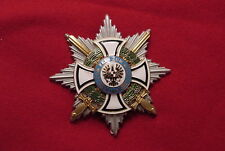 GERMAN WWI MEDAL - ROYAL HOUSE OF  HOHENZOLLERN COMMANDERS STAR WITH SWORDS