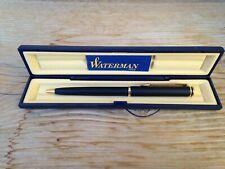 Vintage Waterman Black & Gold Ballpoint Pen Made In France