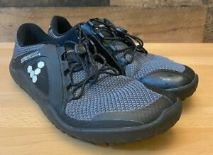 VivoBarefoot 200072-05 Primus Trail FG Black Charcoal Shoes Women's Size 7.5