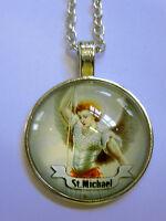 Halskette Sankt St. Michael Necklace  Heiliger Erzengel
