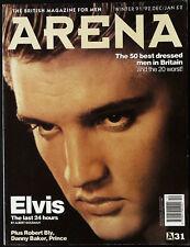 ARENA Magazine #31 W/1991 ELVIS PRESLEY Prince DANNY BAKER Dave Stewart @EXCLT