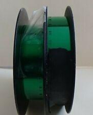 LOT OF 2 100ft 16mm Black Loadng Spools w/apprx 130ft Total GreenLeader SnglPrf