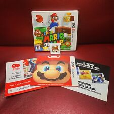 Super Mario 3D Land / Nintendo 3DS Complete CIB With All Inserts Free Shipping