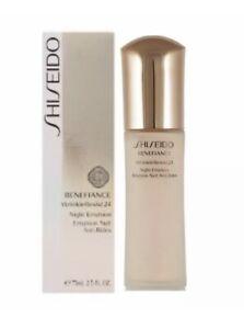 Shiseido Benefiance WrinkleResist 24 Night Emulsion 2.5 oz Sealed - Genuine