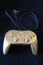 CLASSIC CONTROLLER PRO originale NINTENDO per WII ! Colore GOLD ORO GOLDEN !