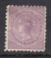 New South Wales 1867 QV 10d lilac SG 205 - mounted mint