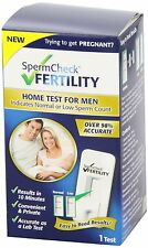 Fairhaven Health SpermCheck Fertility Male Fertility Men Home Test Sperm Count