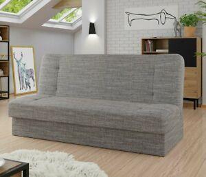 Sofa Grayson mit Schlaffunktion und Bettkasten Bettsofa Modern Schlafcouch M24