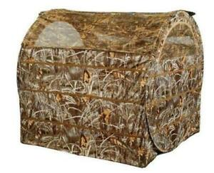 Bale Blind Pigeon Shooting Hide Woodland Camo Pop Up Decoying Decoy Tent