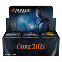MTG CORE SET 2021 DRAFT BOOSTER BOX - Sealed English