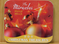 The Miracles Jingle Bells Christmas CD tin 2009 Lifestyles Still Sealed