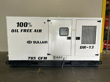 Sullair 200 Hp Horse Power Rotary Screw Air Cooled Compressor 785 Cfm