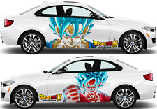 DRAGON BALL Super Car Body Door Vinyl Sticker Graphics Decal Anime fit any auto