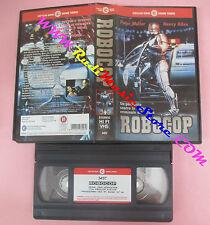 VHS film ROBOCOP 1987 Peter Weller Nancy Allen CECCHI GORI 3457 (F64) no dvd
