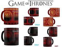 Game of Thrones Mug - Heat Changing Targaryen Lannister Christmas Birthday Cup
