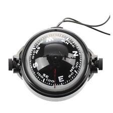 Boussole Compass LED Flottant Magnetique Navigation pour Voiture Auto Marin V9L3