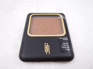 Black Radiance Pressed Powder 8619 Warm Hazelnut w/Brush and Mirror