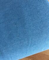 Blue Marl Cotton Elastin Jersey Rib Per Meter Stretch Waistband Trim
