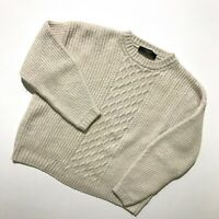 Women`s Max Mara Weekend crew-neck Knit Sweater Beige Size M