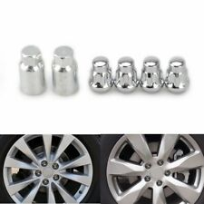 4pcs 12x1.5 Anti-theft Locking Wheel Lug Nuts + Key for Chevrolet Hyundai Acura