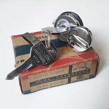 DATSUN 520 521 Pickup Truck Fuel Gas Door Lock Key Genuine Parts NOS (((RARE)))