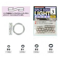 Decoy Split Ring Size #3 40lbs Silver 20pcs