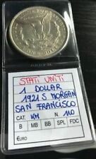 "1 Dollar Morgan Argent USA ""San Fransisco"" Année 1921"