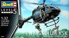 H145M LUH KSK Surveillance + Troop Transport 1:32 Revell Model Kit