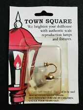 Town Square Miniatures Lighting Candle wall Sconce with Extra Bulb NEW T8605