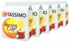 5 x Packs Tassimo Morning Café T Discs Pods - 80 T Discs 80 Drinks Morning Cafe