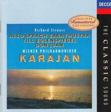 Rare Richard Strauss Karajan-CD-1995- New & Sealed  D2
