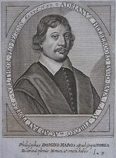 ADRIANUS HEEREBOORD PORTRAIT XVII ÈME CIRCA 1620 ,