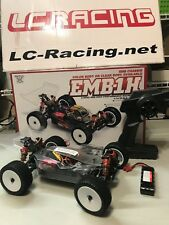 LC Racing EMB-1H 1/14 4WD Brushless Off-Road Racing Buggy EP RTR RC Clear