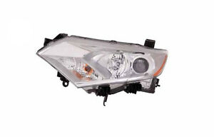 New Left/Driver Side Headlight Assembly FOR 2011-2012 Nissan Quest