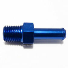 3/8 NPT to 12mm 13mm (1/2) PUSH ON BARB TAIL Hose Pipe Fitting Adapter Fuel Oil