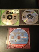Lot of 3 Ps1 And Ps2 Games! Frogger, Coolboarders 3, And Ace Combat 4