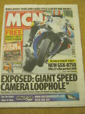 MCN - MOTORCYCLE NEWS - GSX R750 - 1 March 2006