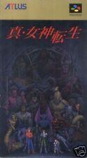 Shin Megami Tensei SNES Super Nintendo SFC Japan