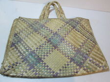 Handmade screwpine or pandanus bag Indonesian